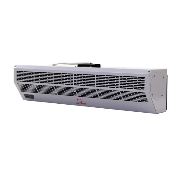 24 Inch Maxwell Air Curtain with Electric Heat and Remote Control HCKPI1068
