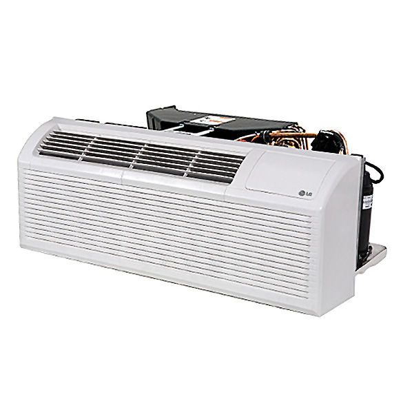 15,000 BTU LG PTAC Cooling Only with 3.5 kW Electric Heater, 11.2 EER HCLGE1011