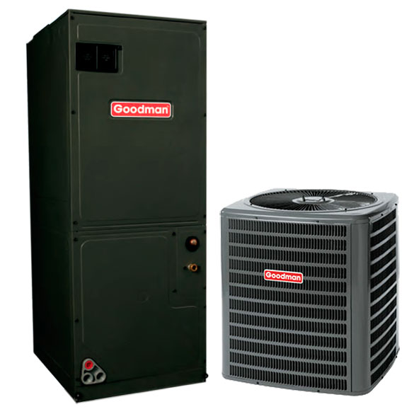 3 Ton Goodman 14.5 SEER Central Air Conditioner System HCGMC1057