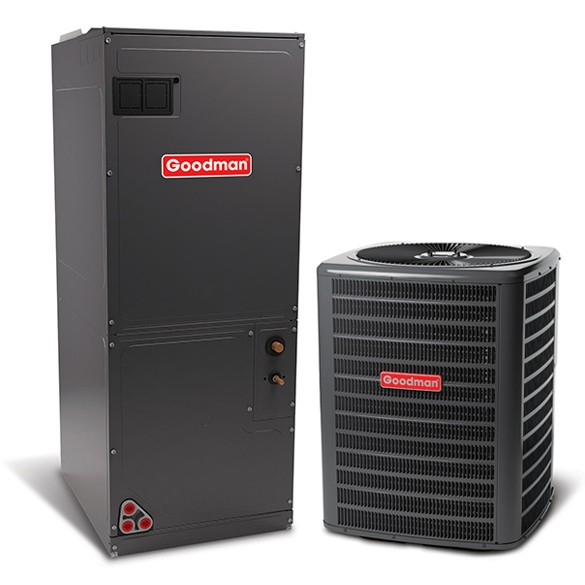 3 ton goodman 16 seer central air conditioner system