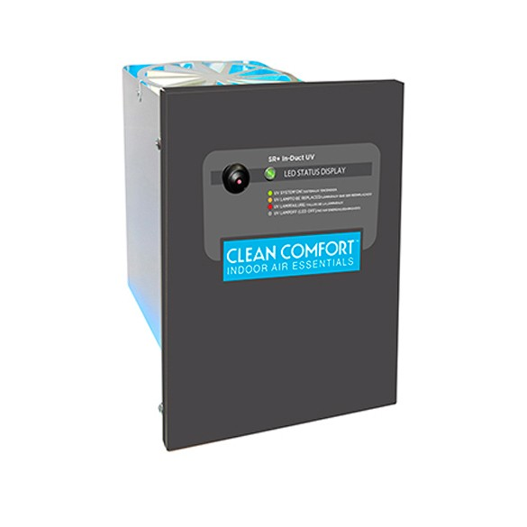 Duct Air Purifier : Clean comfort duct mount uv air purifier dual voltage v