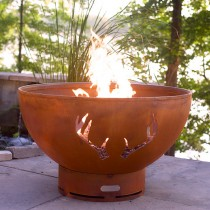 Antlers Outdoor Gas Fire Pit