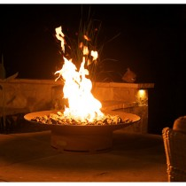 Asia 36 Inch Outdoor Gas Fire Pit