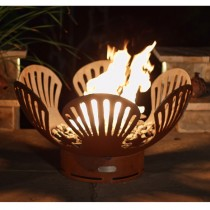 Barefoot Beach Outdoor Gas Fire Pit with Electronic Ignition