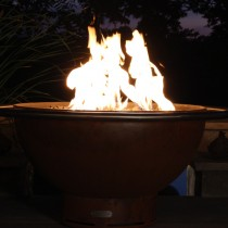 Bella Luna Outdoor Gas Fire Pit with Electronic Ignition