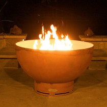 Crater Outdoor Gas Fire Pit