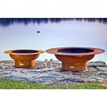 Magnum Outdoor Gas Fire Pit with Lid