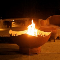 Manta Ray Outdoor Gas Fire Pit