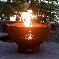 Navigator Outdoor Gas Fire Pit with Electronic Ignition