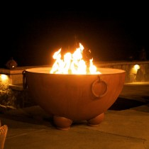 Nepal Outdoor Gas Fire Pit
