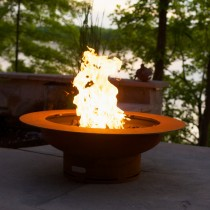 Saturn Outdoor Gas Fire Pit
