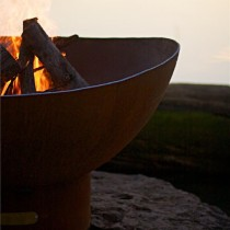 Scallop Wood Burning Fire Pit