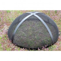Fire Pit Art 36 Inch Spark Guard