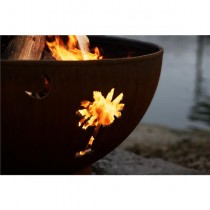 Tropical Moon Wood Burning Fire Pit