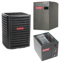 4 Ton Goodman 16 SEER 2 Stage Variable Speed Central Air Conditioner Heat Pump Upflow/Downflow System