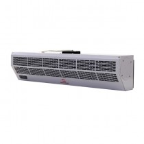 24 Inch Maxwell Air Curtain with Electric Heat and Remote Control