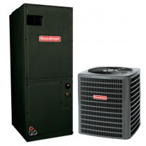 5 Ton Goodman 14 SEER Central Air Conditioner System